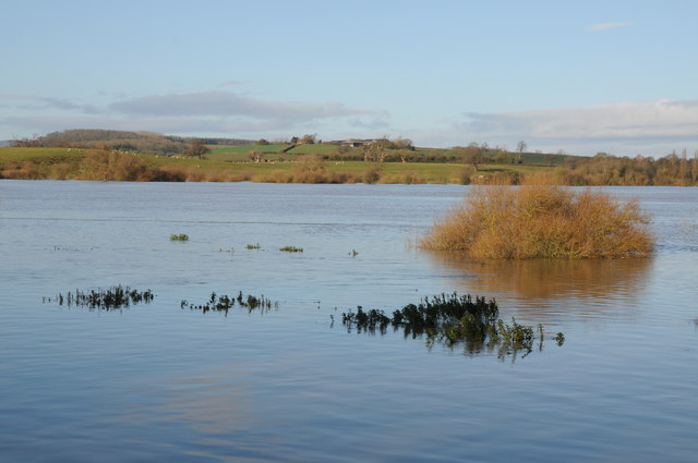 The flooded Severn Ham