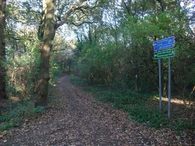 Cycle Route 6 leading towards Bestwood Park