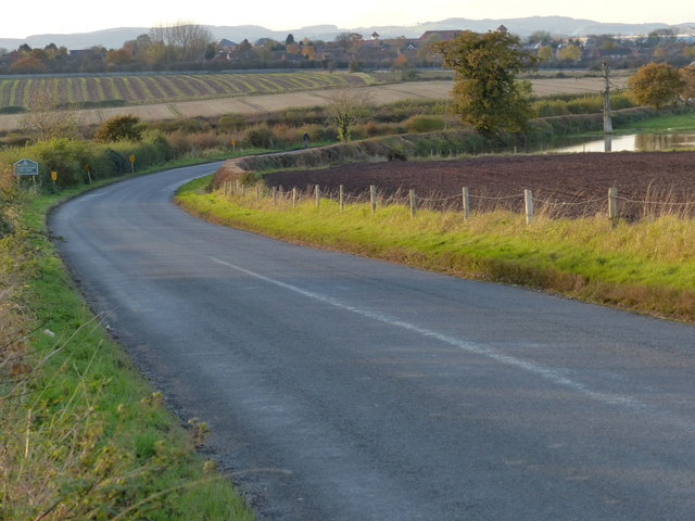 Barkby Thorpe Lane towards Thurmaston