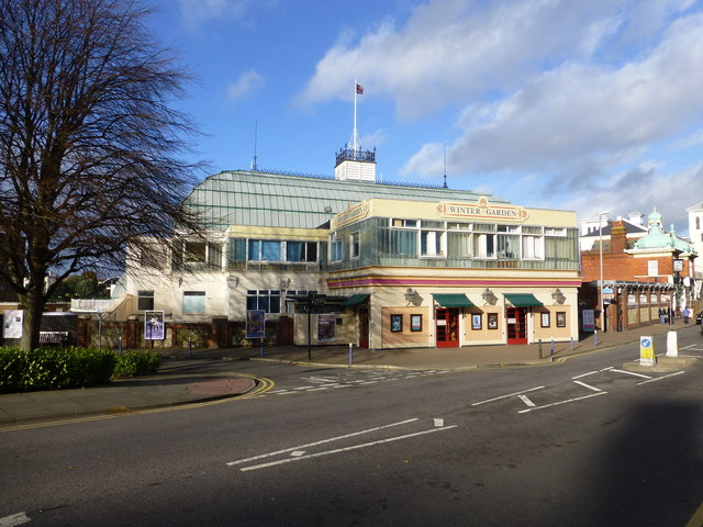 The Winter Garden, Eastbourne © PAUL FARMER :: Geograph Britain and ...