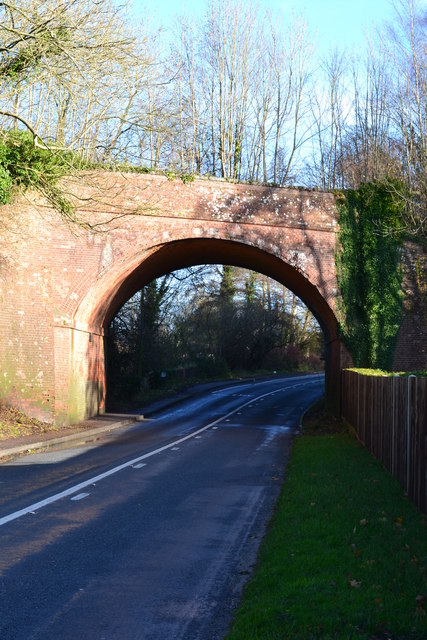 Disused railway bridge, Alresford