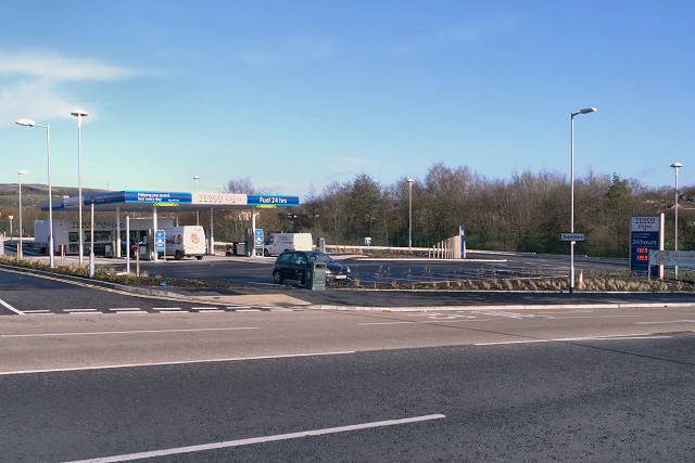 Fuel Forecourt, Tesco Extra