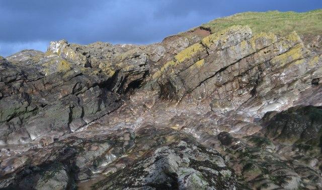 Folded Limestones