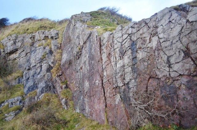 Hodbarrow Point Hematite Deposit
