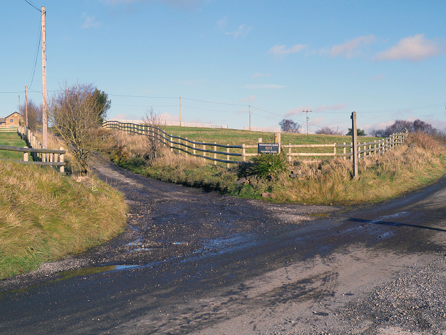 Track to Greengate Farm