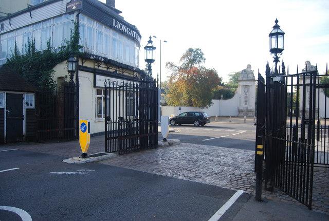 Gates, Bushy Park
