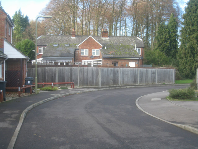 Rear view of Down Grange Cottages
