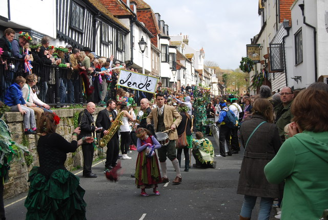 Lende, Jack in the Green Parade