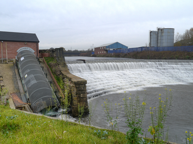 River Irwell, Bealey's Weir