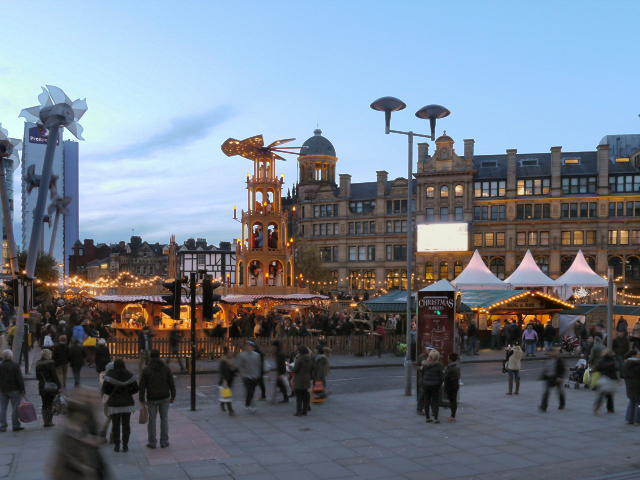 Exchange Square, Christmas Market