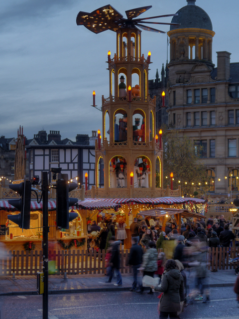 Manchester Christmas Markets, Exchange Square