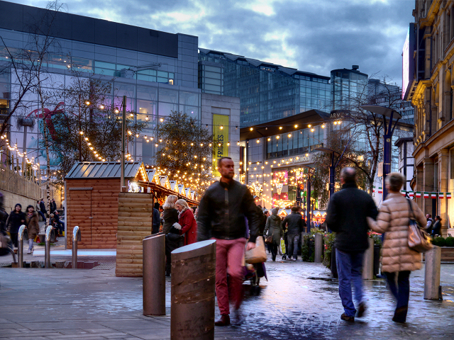 Christmas Market, Exchange Square