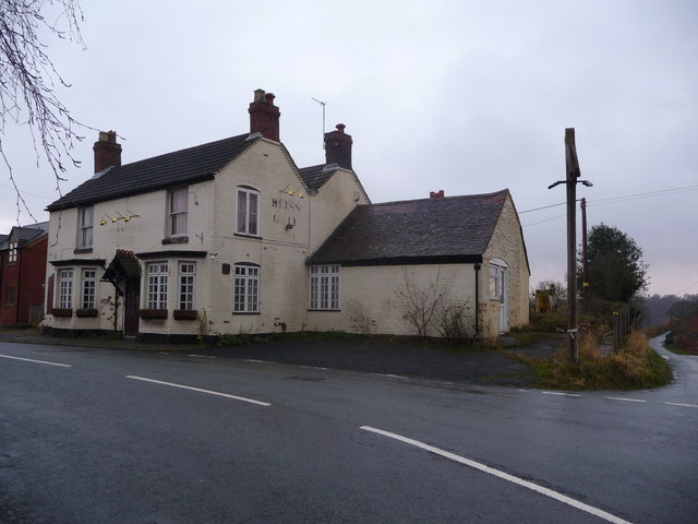 The old Bliss Gate pub at Bliss Gate