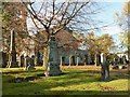 NS3979 : Alexandria Parish Churchyard by Lairich Rig