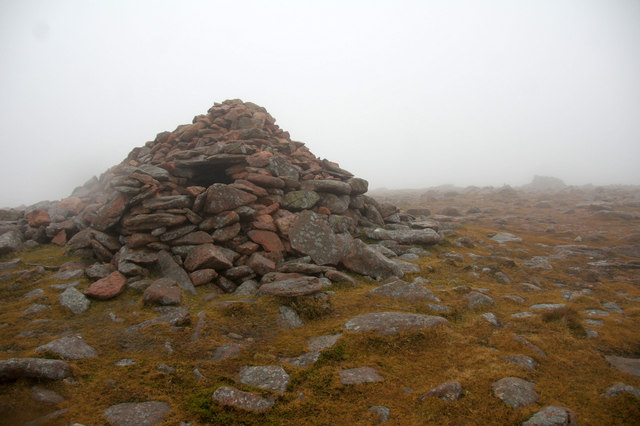 Summit of Ronas Hill