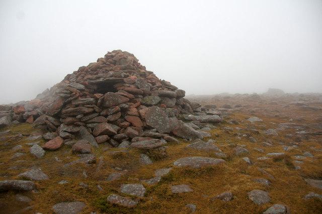 Summit of Ronas Hill