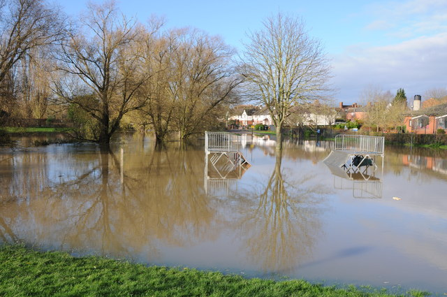 Flooded River Swilgate