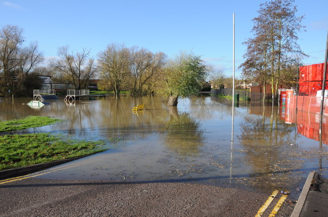 Flooded Howells Road