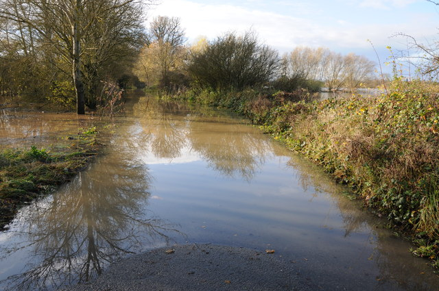 Flooded Lower Lode Lane