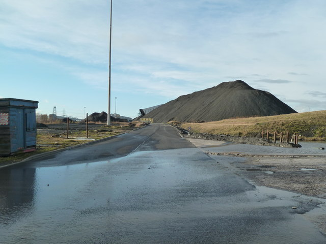 Kellingley Colliery - rear entrance