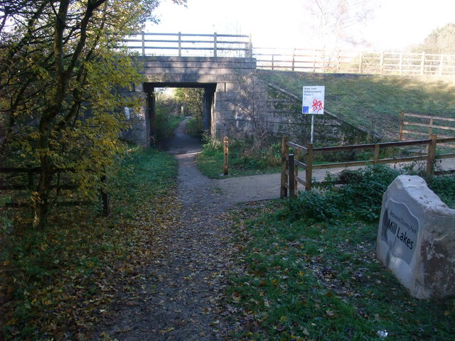 Cycle Route 6 leaving Bestwood Country Park