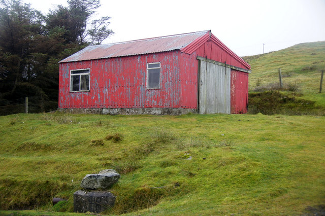 Old garage, South Collafirth