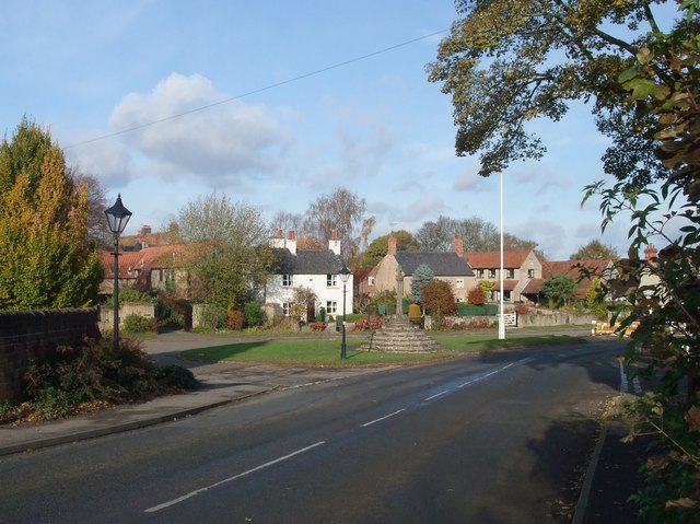 Entrance to Linby