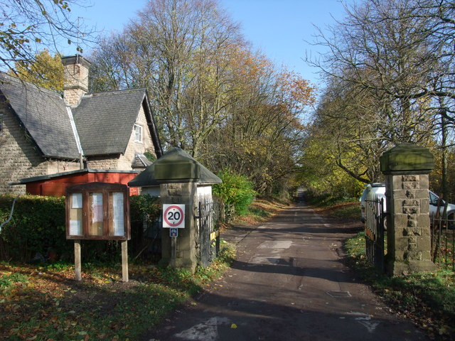 North Lodge entrance to Newstead Park