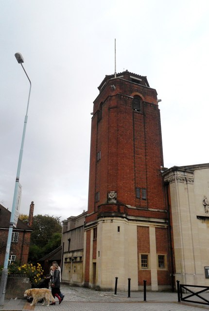 Tower, Our Lady of Sorrows and St Bridget of Sweden, Isleworth