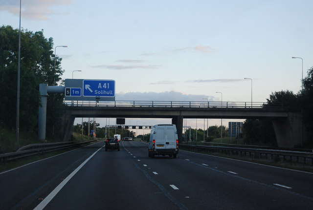 Friday Lane Bridge, M42