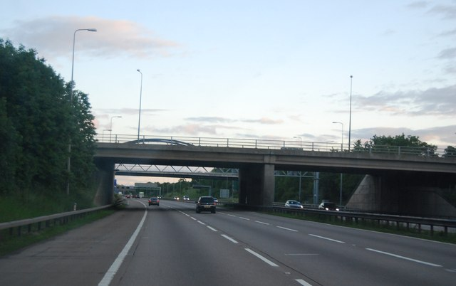 Overbridge, Junction 4, M42