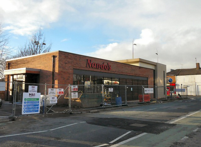 Nando's under construction