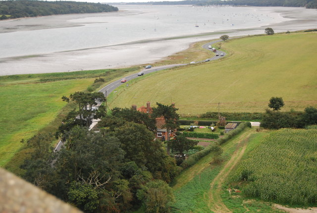 View from the Orwell Bridge