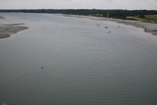 River Orwell from the Orwell Bridge