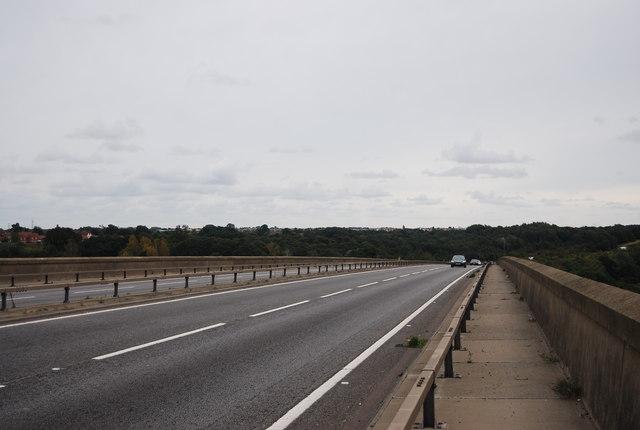 Crossing the Orwell Bridge