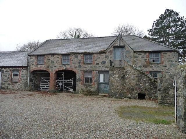 Bronant farmyard, southern wing