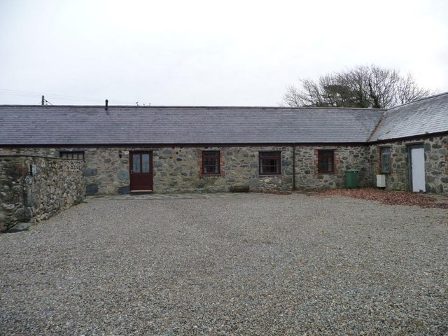 Bronant farmyard, eastern wing