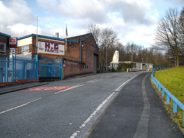 HMG Paints, Collyhurst Road