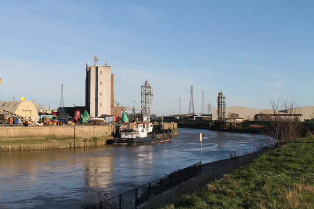 River Witham towards Boston Docks