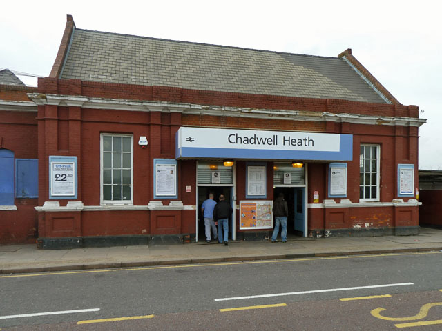 Chadwell Heath station, street level