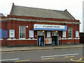TQ4787 : Chadwell Heath station, street level by Robin Webster