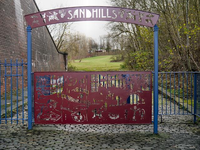 Sandhills (Fitzgeorge Street Gates)