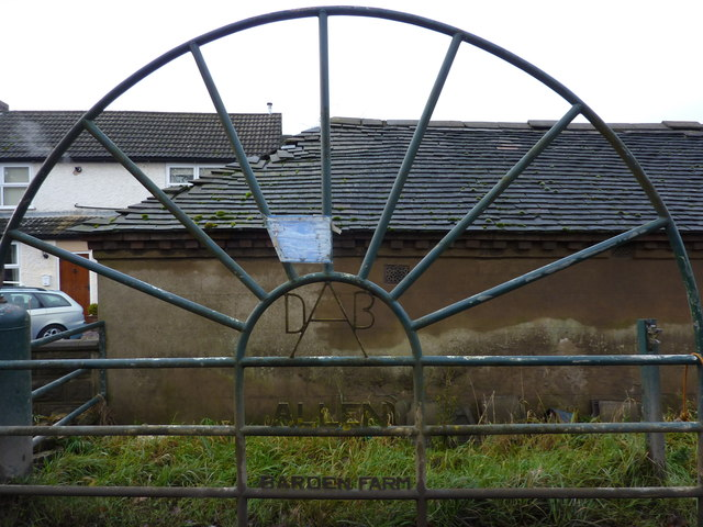 Barden Farm gate