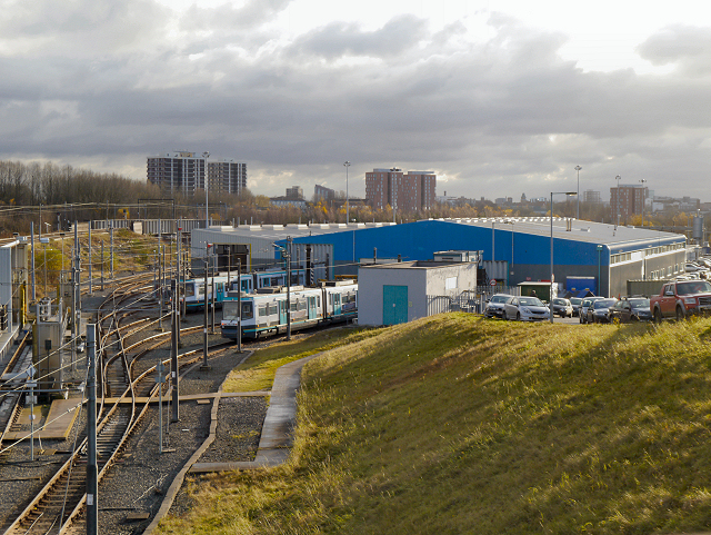Metrolink Depot, Queen's Road