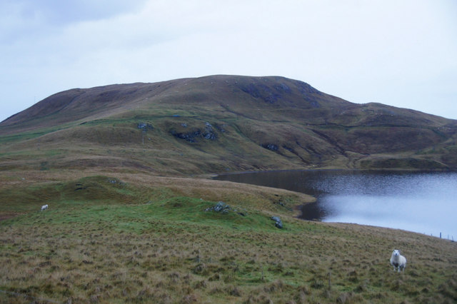 Loch of Lunnister and Hill of Haggrister