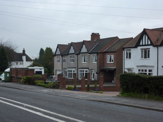 Heanor Road, houses
