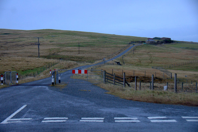 Junction at Sullom