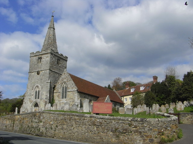 The Church of St Peter, Shorwell