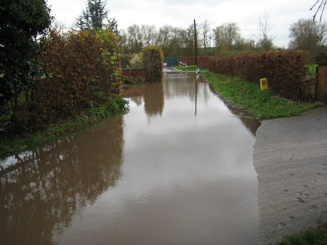 Water in Ferry Lane