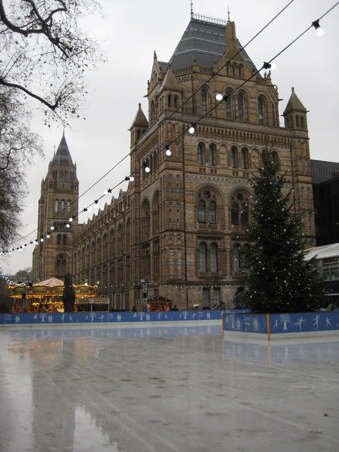 Ice rink, National History Museum